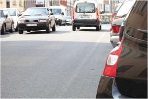 Witteringstraße: Unübersichtlich und deshalb gefährlich für RadfahrerInnen