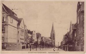 Foto der Isabellastraße 1918